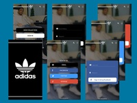 Adidas Mobile App Sign in/Sign Up