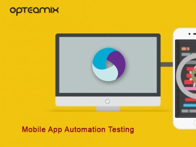 Mobile App Automation Testing | Opteamix mobile app automation testing
