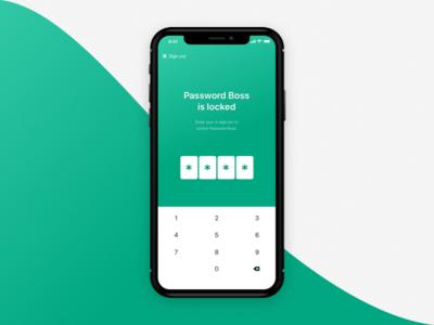 App Locked Screen