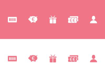 Rewards Icons