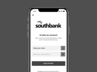 Southbank sign up