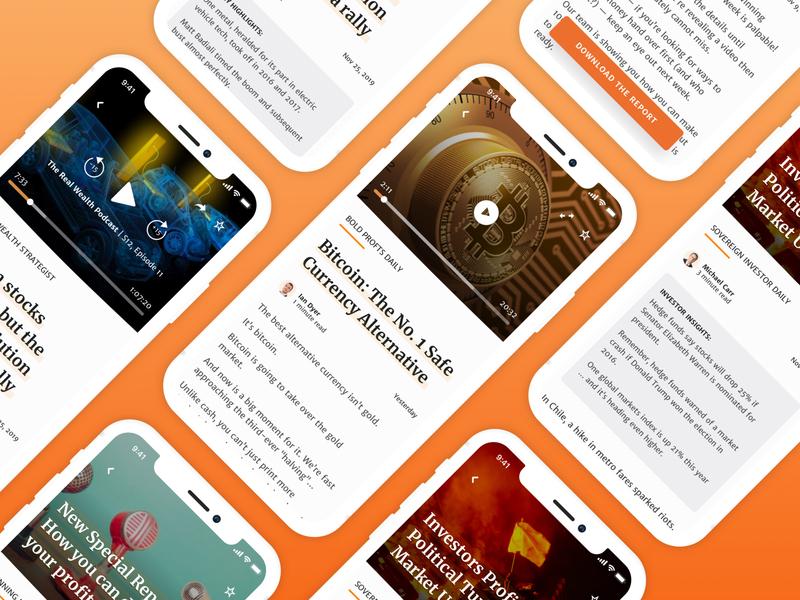 Different App Content Views