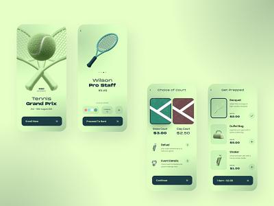 Sports Club App ui