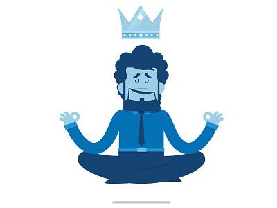 Keep Calm characters direction design artwork flat motion illustration