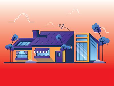 SOMEWHERE IN UTOPIA 2d illustration colors simple outline digital art motion graphics animation 3d graphic design logo ui branding adobe illustrator 2d vector illustrator art illustration flat design