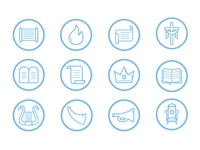 Overview Bible Icon Sets