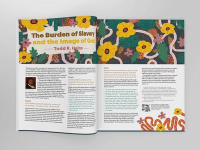 Burden Of Slavery history church africa church african christ jesus bible study magazine illustration bible magazine