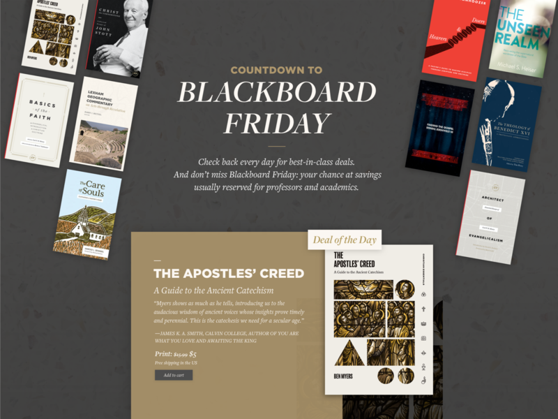 Lexham Early Black Friday Deal Website deal church design commentary discount promotion ux book publisher publisher book black friday website web design