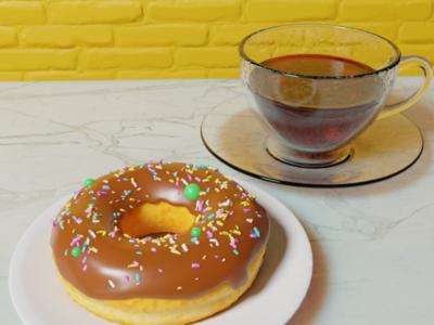 Blender Donut blendercycles blender 3d blenderguru blenderdonut blender3d