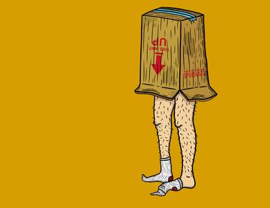 Box Boy procreate illustration