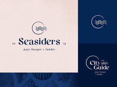 Seasiders Branding Identity for ocean lovers branding identity branding project seasiders city guide typography vector logo illustration design branding