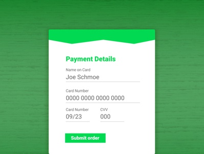 Daily UI #2 (Payment Details) design figma graphicdesign uxdesign uidesign ui  ux dailyui
