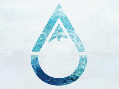 Personal Logo logo snow ice mountain water illustrator