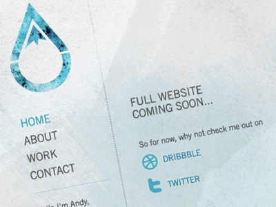 AU Website website texture portfolio coming soon photoshop