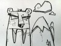 Sabre-bear Sketch