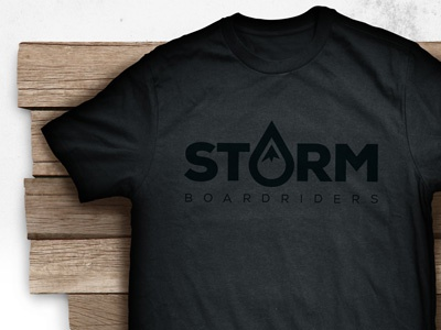Storm Boardriders storm brand clothing snowboarding surfing skatboarding boardriders tee