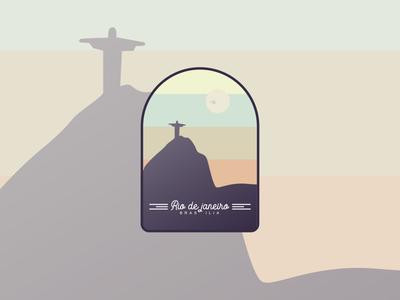 Rio de Janeiro Badge