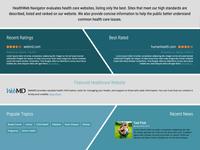 Health Website Ratings