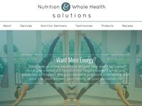 Nutrition & Whole Health Solutions