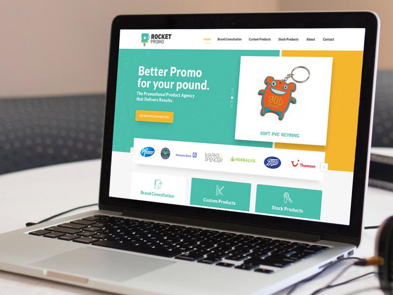 Rocket Promo Website webdesign website home homepage design ux ui process wip site promo rocket