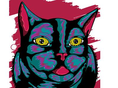 volovan animal design logo cat design illustration illustrator logodesign vector