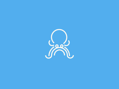 octopus logotype logo design ocean ui illustration logo inspiration inspirations awesome logo awesome brand design logo inspiration brand identity octopus logo octopus