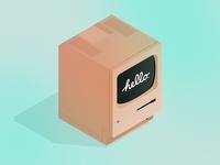 Isometric Macintosh