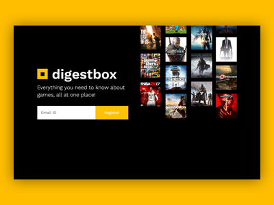 Coming Soon - Digestbox.com sideproject games