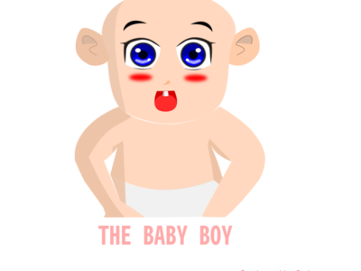 The Baby Boy Drawing illustration