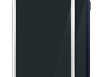 Galaxy S III White & Black PSD Template vector goodie free download psd freebie mobile phone android template samsung