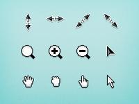 Pixel Cursors