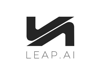 Leap.ai logo photoshop illustrator logodesign logotype logo design logo