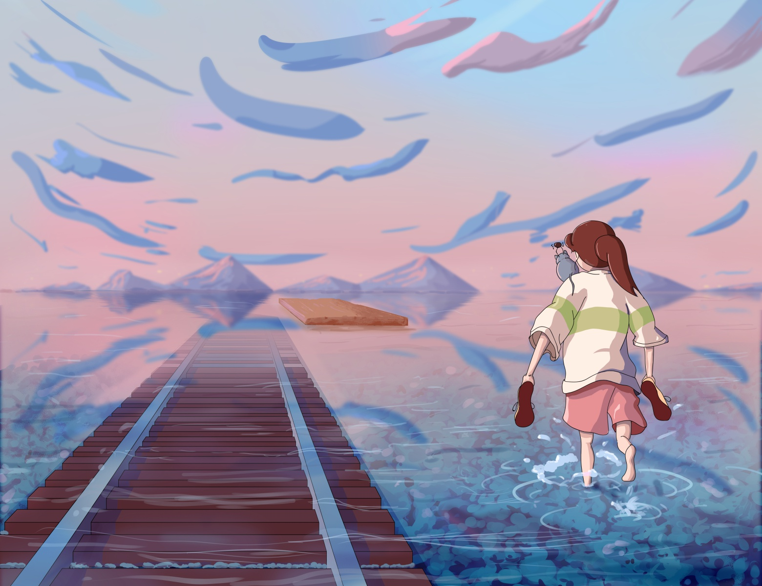Chihiro From Spirited Away Fan Art By Dominique Raneses On Dribbble