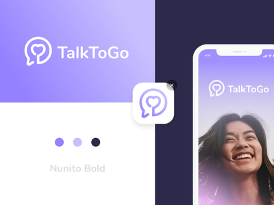 TalkToGo | Logo concept vector app logo icon app logo branding concept branding logocreation logo illustrator flat graphicdesign graphic design