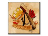 La Bagarre • Tattoo Flash