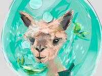 Sudden llama sketch #1