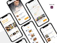 Food Mobile Application Design Concept