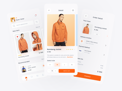 Pop! - Fashion App animation web vector branding typography ui mobile ux figma design