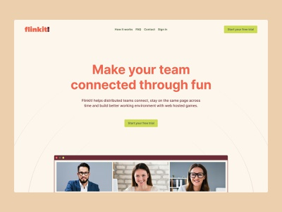 Landing Page website ui webdesign typography saas onepage landing page homepage design branding