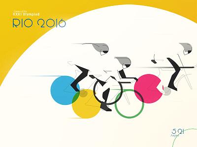 Olympic cycling brazil olympic rings bikes cycling 2016 rio olympics
