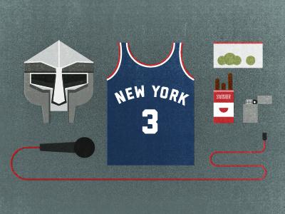 MF DOOM kit kit mask microphone jersey swishers baggie zippo mf doom