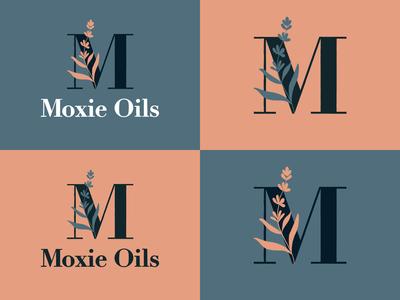 Moxie Oils Branding