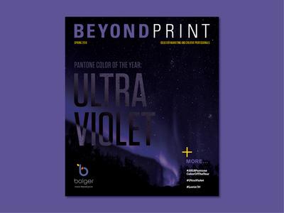 Ultra Violet Magazine Cover