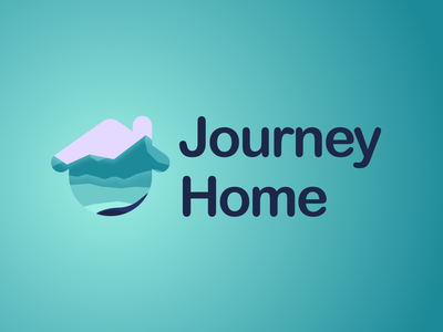 Logo - Journey Home company branding company logo illustration vector appicon ios app logos logodesign logo