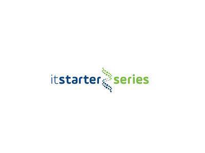 IT Starter Series Logo Design digital design dribble logo visual identity concept art direction brand branding graphic design identity design logo design
