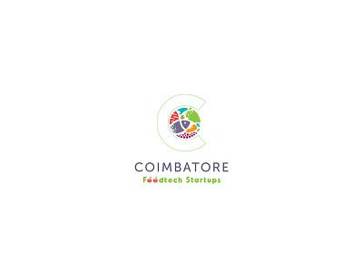 Coimbatore Food Tech Start Ups logo design identity design graphic design logotype logos lettering illustrator icon