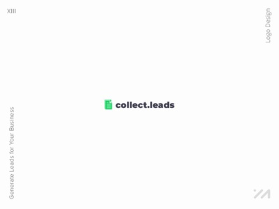 Collect Leads Logo Design