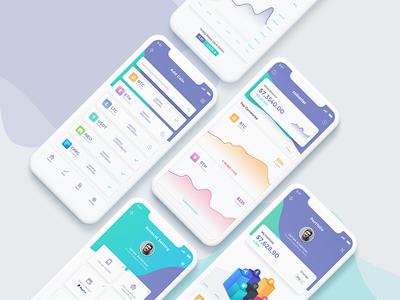 Coinsster App Design
