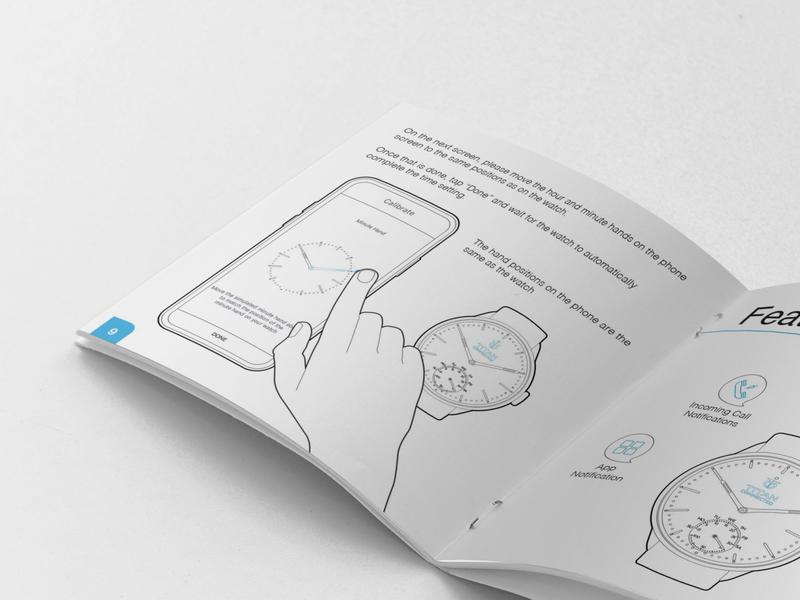 Illustrations for an Instructional Manual illustrations smartphone smartwatch illustrator instructional instruction manual watch line art lineart illustration