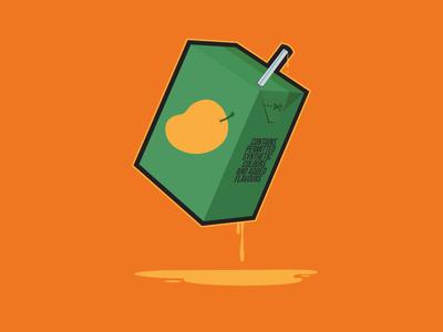 The 90s Nostalgia juice packaging straw green orange mango drink drip pop drink mango